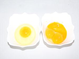 Картофель по герцогски. 1 яйцо и 3 желтка.